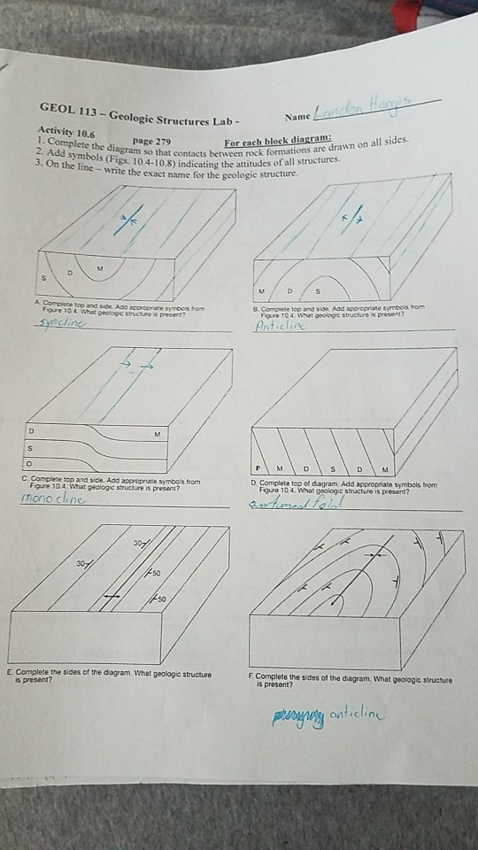 Solved  Geol 113