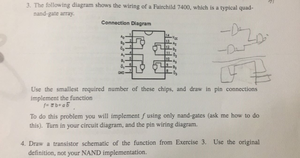Solved: 3. The Following Diagram Shows The Wiring Of A Fai ... on