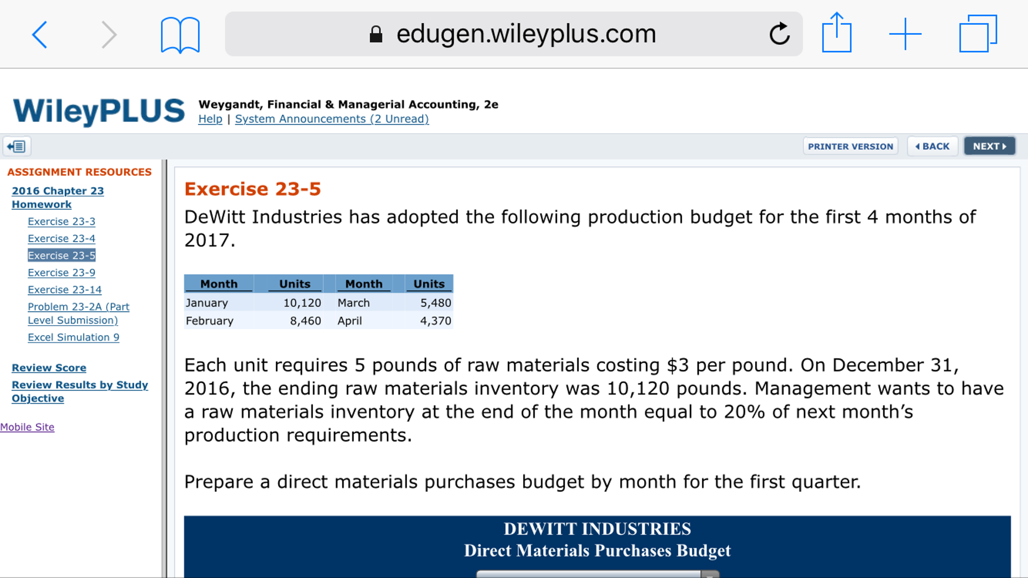 edugen willey plus.com Wiley PLUS Weygandt, Financ