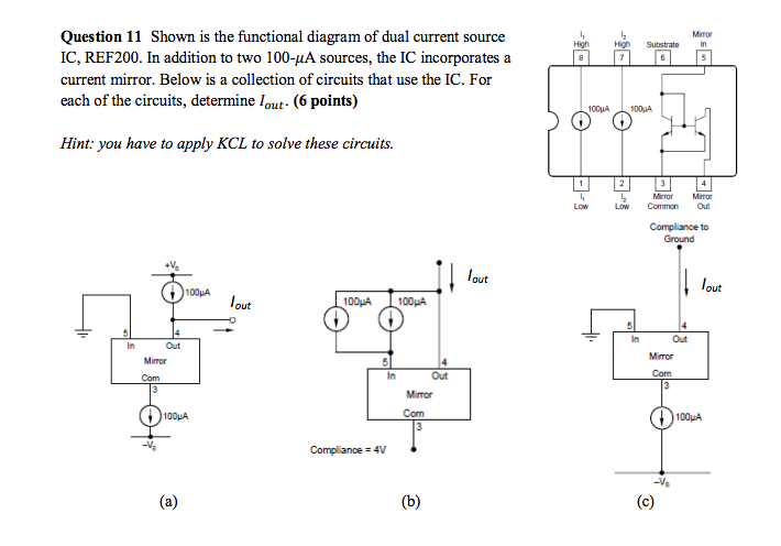 Shown Is The Functional Diagram Of Dual Current So Chegg