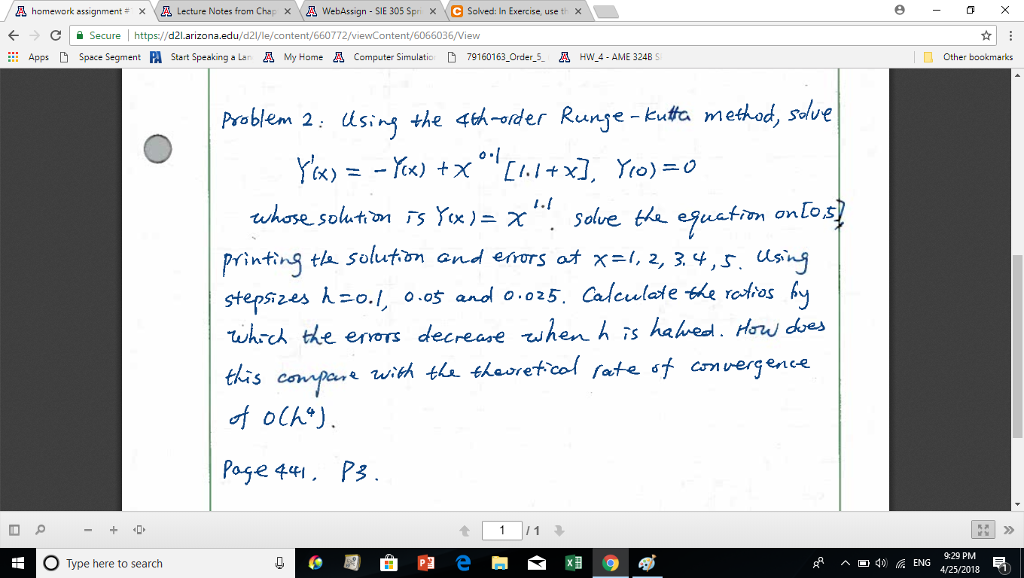 Homework Assignment # × \ ? Lecture Notes From Cha    | Chegg com