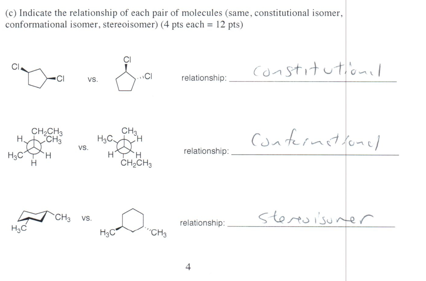 essays on chemical isomers Essays in biochemistry sep 26,  the two different isomers have different physical and chemical properties  essential chemistry for biochemists.