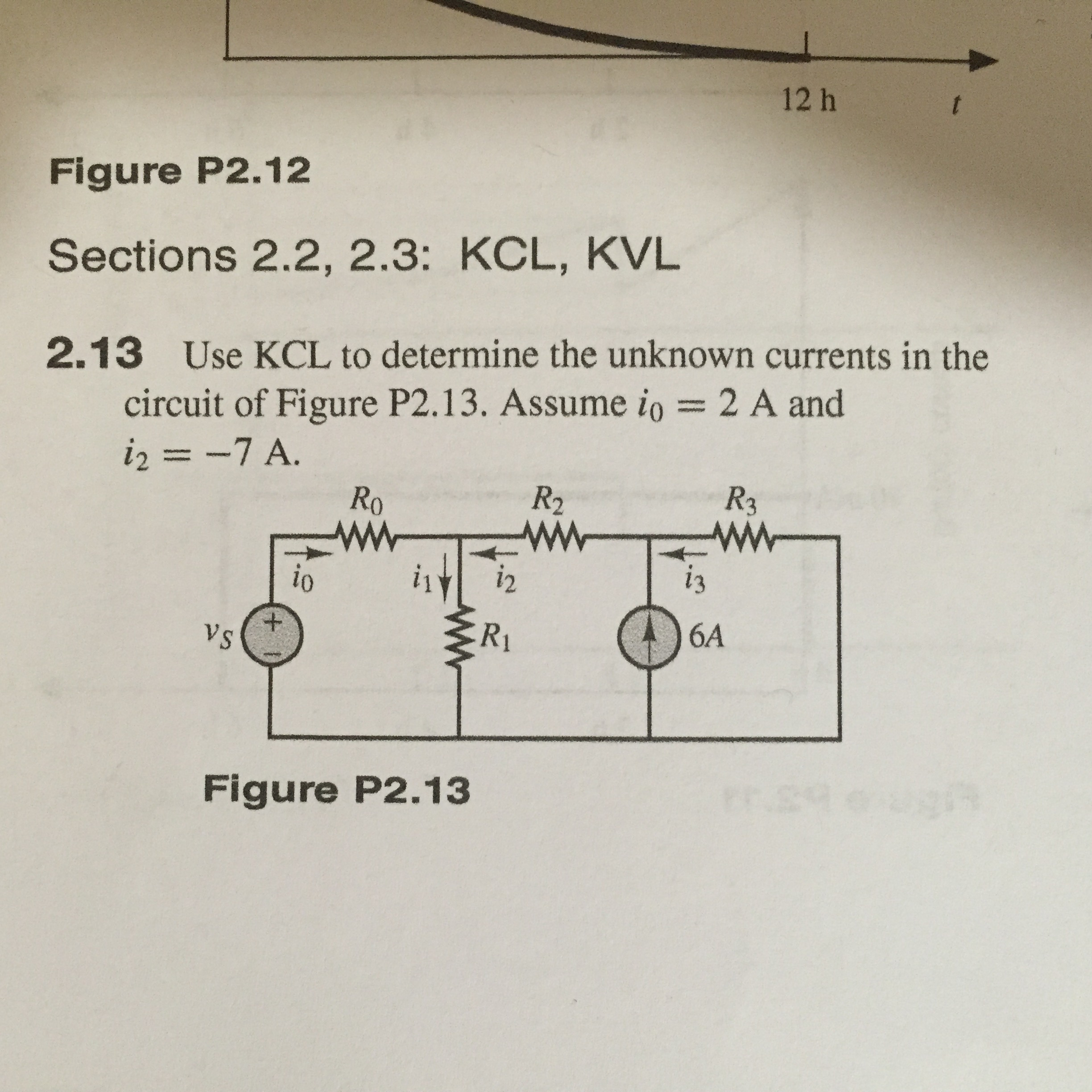 Solved Use Kcl To Determine The Unknown Currents In C Current Flow Series Circuit With Different Resistances Question 213