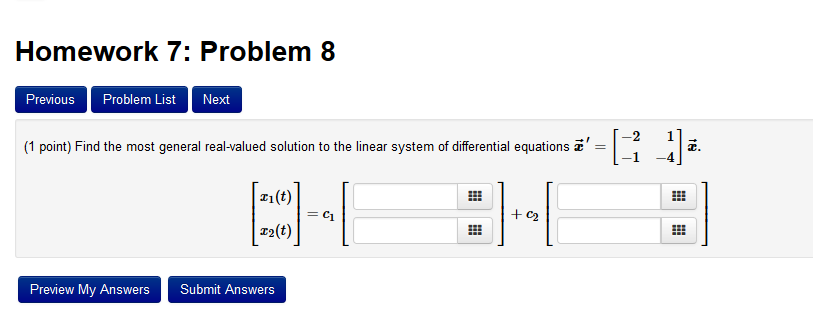 Closed-Form Solution, from Wolfram MathWorld