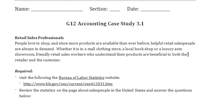 accounting case study questions Case studies in finance & accounting edited by  questions 1 assuming mr  the purpose of this case study is to get students to think about the difficulties and.