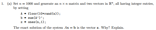 This Is A Matlab Question Please Explain In Layma