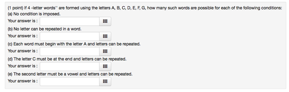 "solved: if 4 -letter words"" are formed using the letters a"