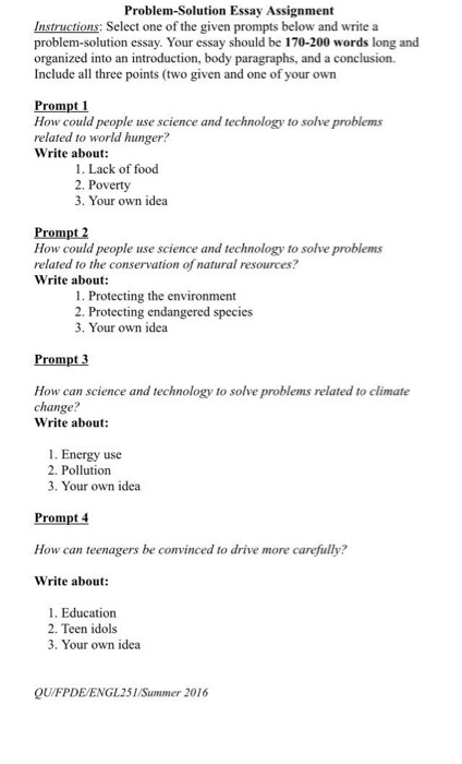 Essay On Healthy Eating Habits Instructions Select One Of The Given Prompts Belo Essays On Different Topics In English also Mental Health Essay Instructions Select One Of The Given Prompts Belo  Cheggcom Business Essay Topics