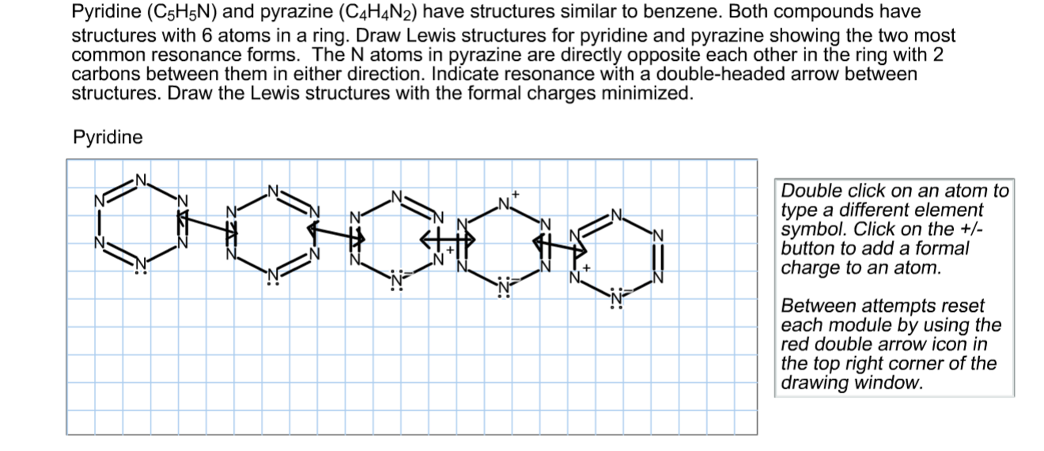 Solved pyridine and pyrazine have structures similar to b solved pyridine and pyrazine have structures similar to b chegg ccuart Choice Image