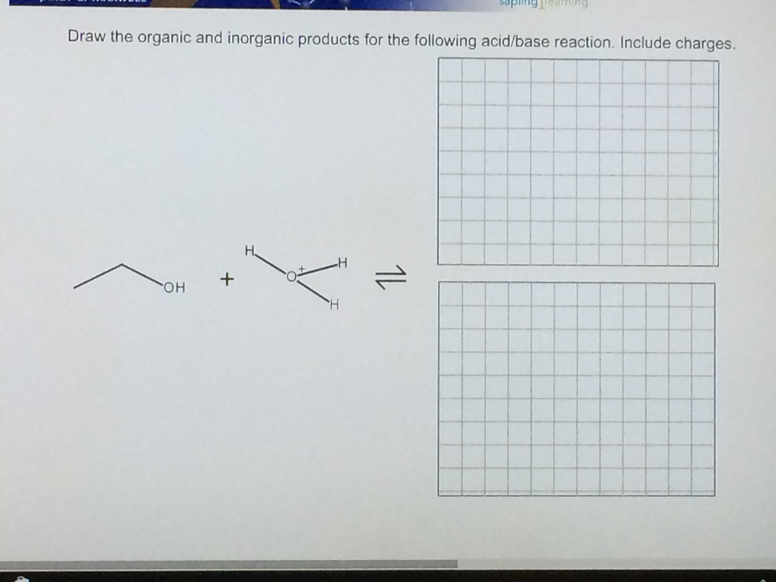 Solved: Draw The Organic And Inorganic Products For The Fo ...