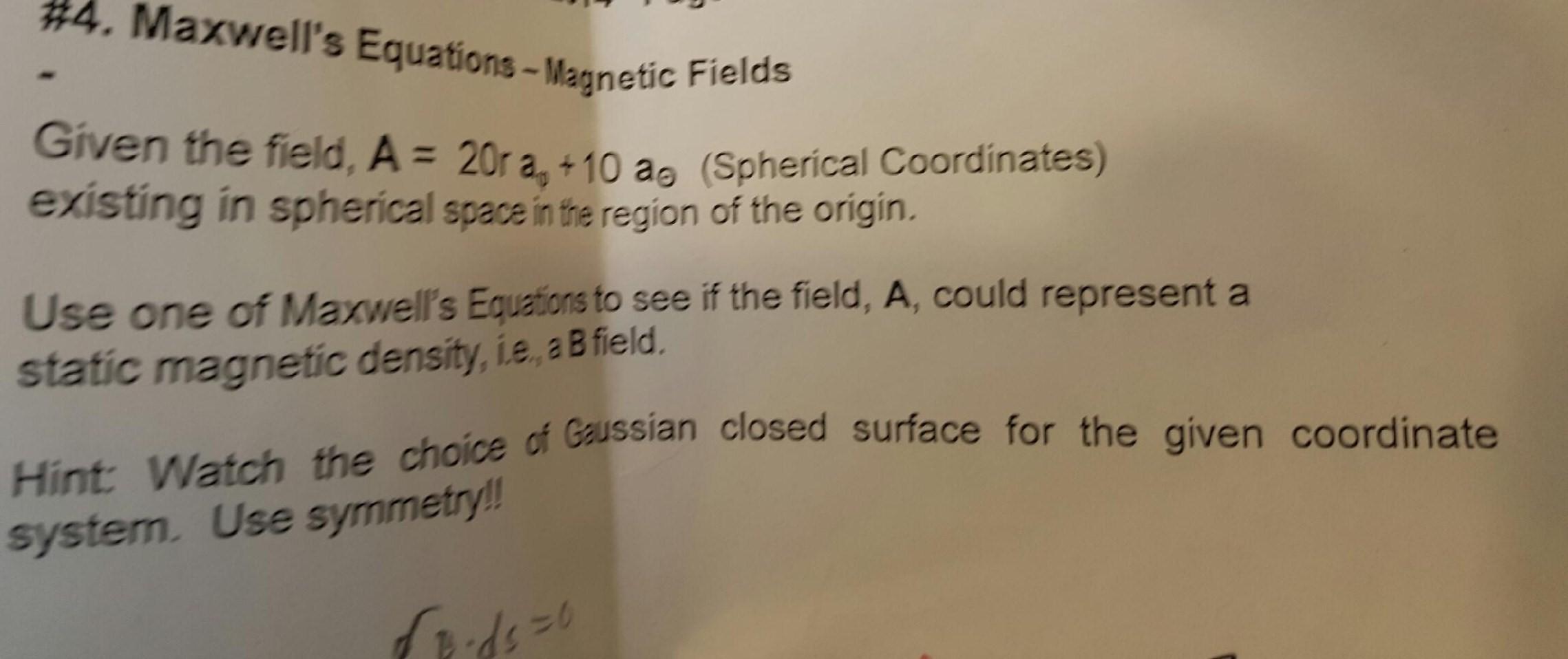 Maxwells equations homework help   getwritingbestessay.life