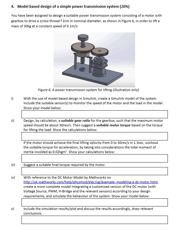 4  Model Based Design Of A Simple Power Transmissi