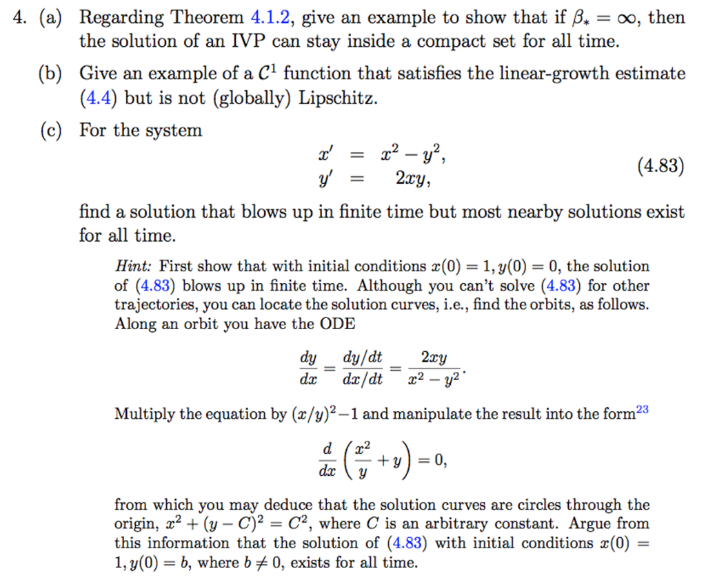 Advanced math archive october 18 2017 chegg 4 a regarding theorem 412 give an example to show fandeluxe Choice Image