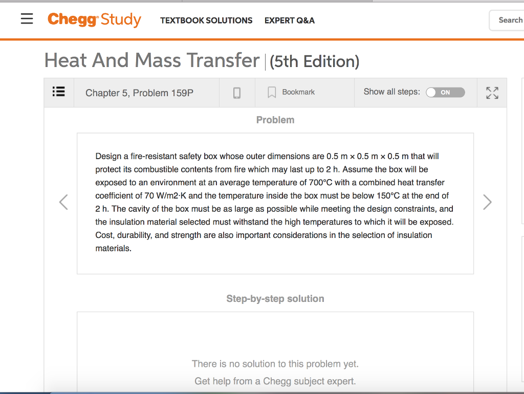 Solved Chegg Study Textbook Solutions Expert Qa Search