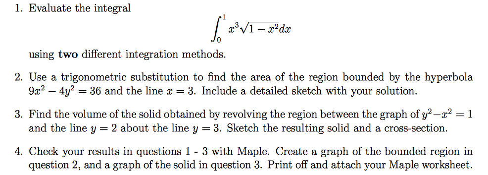 Solved Evaluate The Integral Integral10 X3 Squareroot