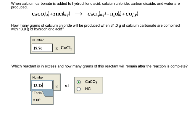 carbonate and hydrochloric acid essay