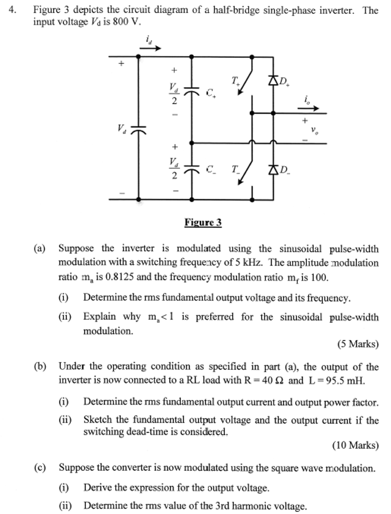 Figure 3 Depicts The Circuit Diagram Of A Half Bri Bridge Also Electrical On