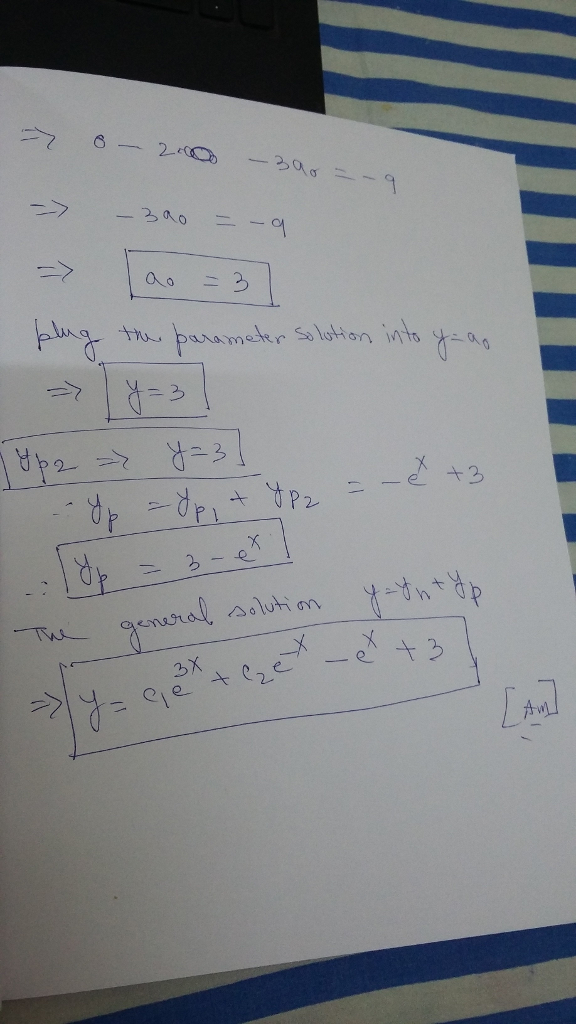 Find the General solution of The Given Higher - Order