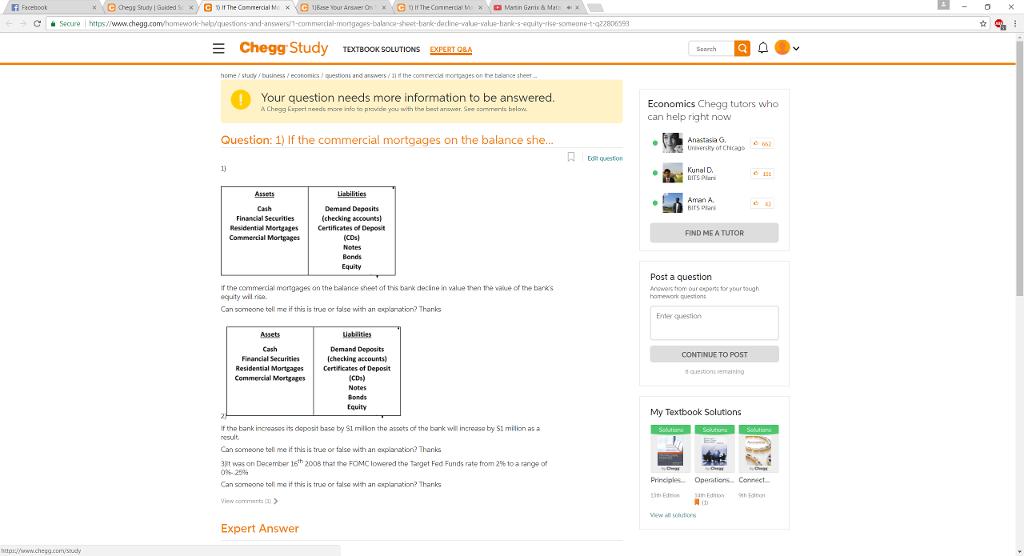 Solved: Facebook Chegg Study TEXTBOOK SOLUTIONS Homestudyb