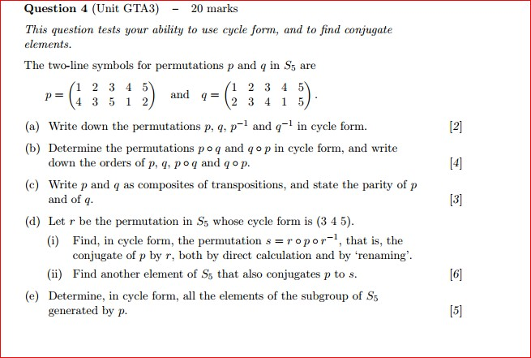 Advanced math archive november 21 2016 chegg this question tests your ability to use cycle form buycottarizona Images