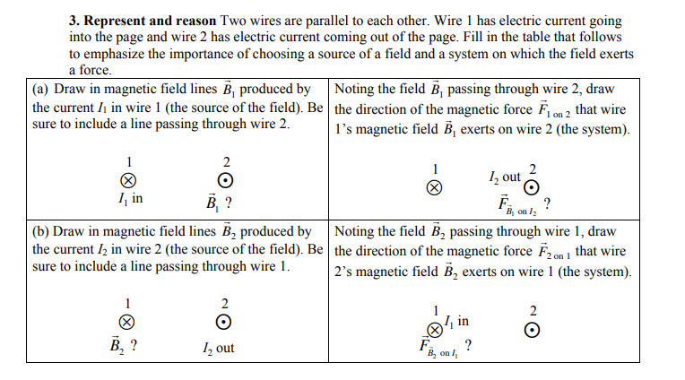 Solved: 3. Represent And Reason Two Wires Are Parallel To ...