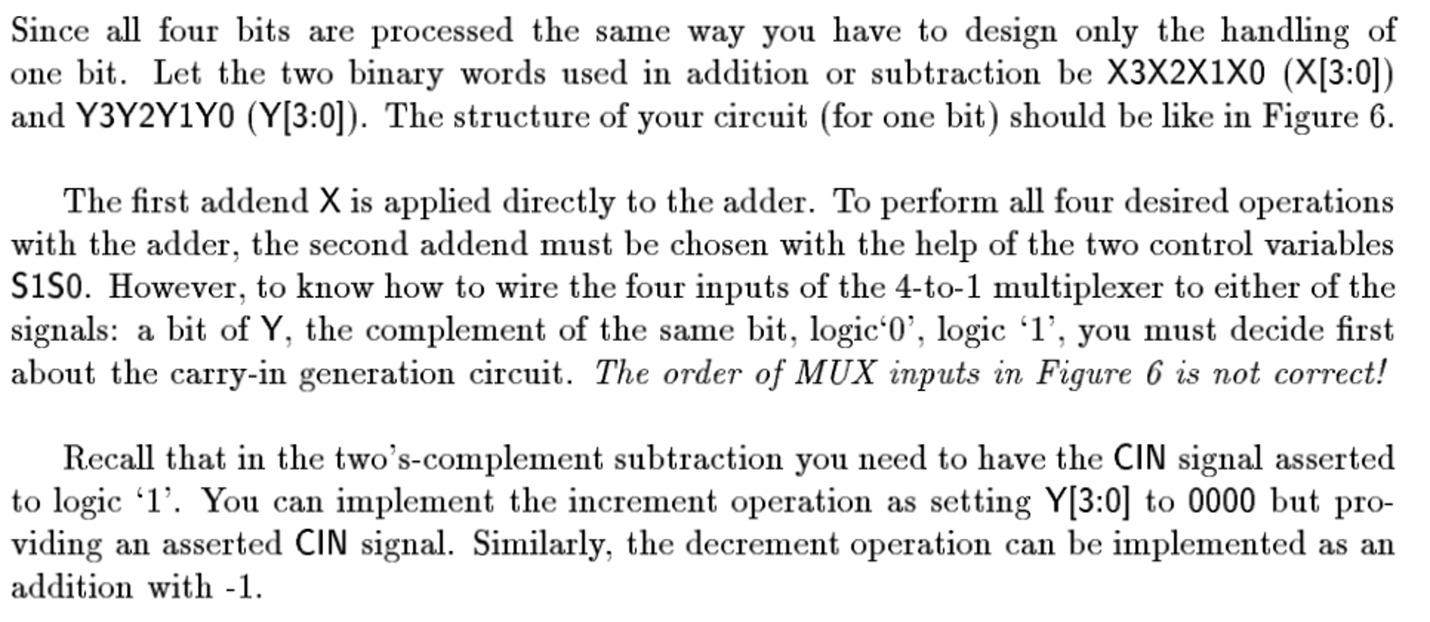 The Questions I Need Help With Are 1 Draw Lo S Complement Circuit Diagram Question Logic Of Implementing 4 B