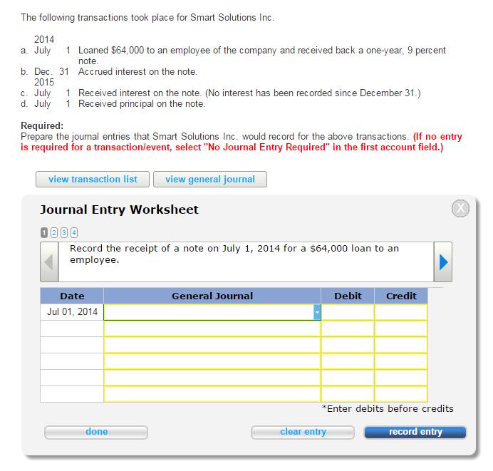 Printables Journal Entry Worksheet 2a 2b 2c 2d general journal entry worksheet op chegg com workshee
