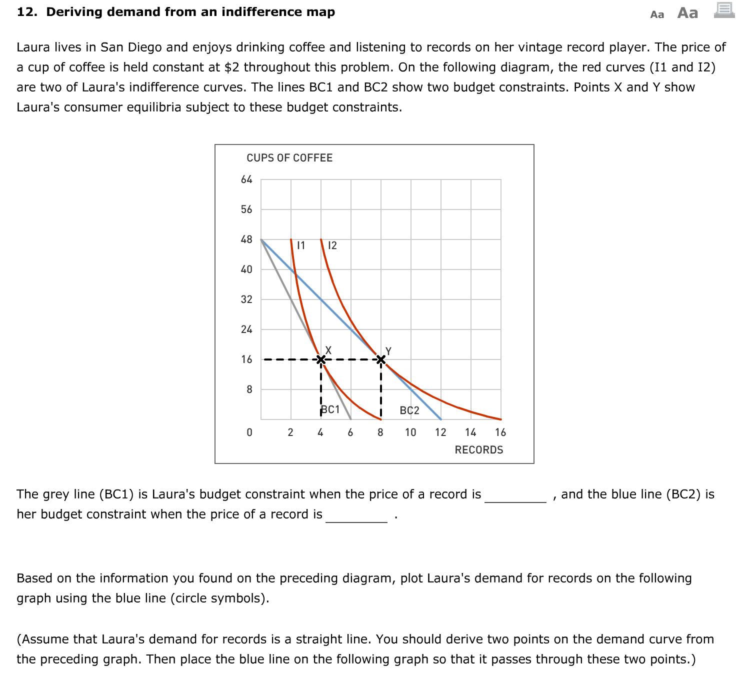 how indifference curvesand budget constraints can be used to construct an individuals demand curve Simple budget constraint/demand curve demonstrator , individuals have preferences which they use to rank the possible indifference map/budget.