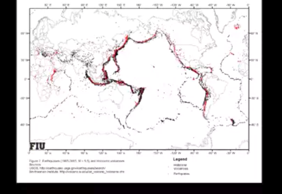 Solved 1 the earths surface is not smooth identify on 3 how does the theory of plate tectonics explain the location of earthquakes and volcanoes where do most earthquakes and volcanoes occur gumiabroncs Images