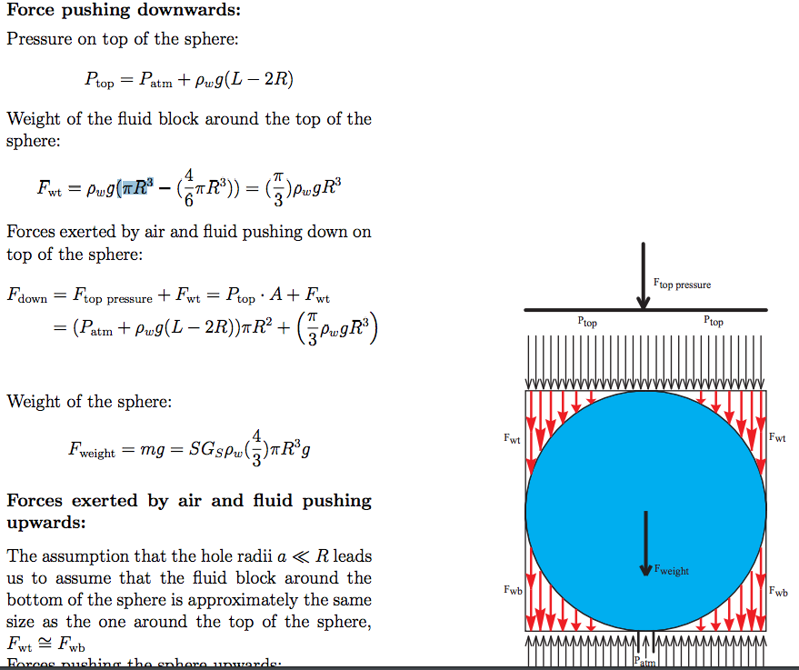 Solved  Hydrostatic Pressure  I Am Trying To Find The Hydr