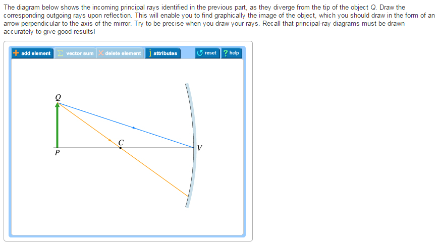 Solved the diagram below shows the incoming principal ray question the diagram below shows the incoming principal rays identified in the previous part as they dive ccuart Gallery