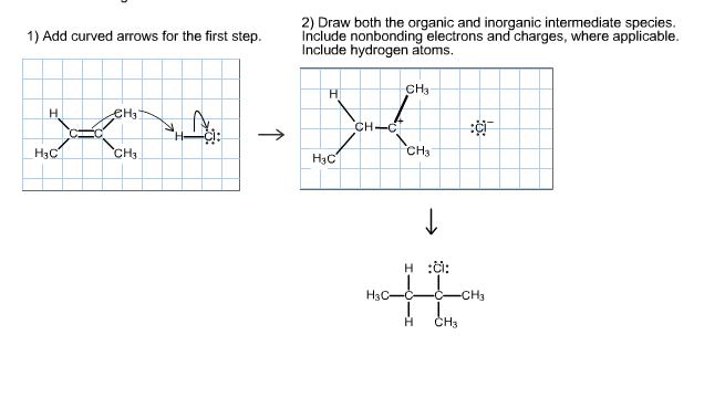 Solved 2 Draw Both The Organic And Inorganic Intermediat