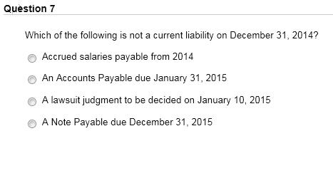 accrued payable
