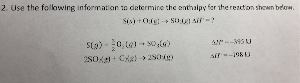 Solved: 2. Use The Following Information To Determine The ...
