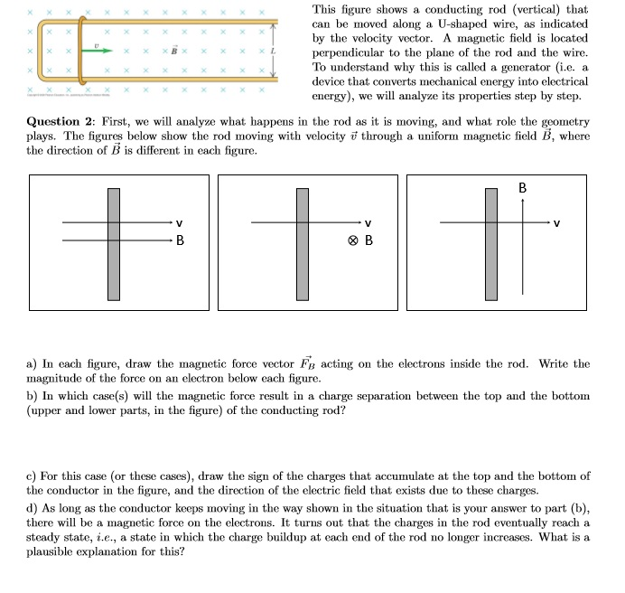 Solved: E) For The Steady State, find A Relation Between Th ...