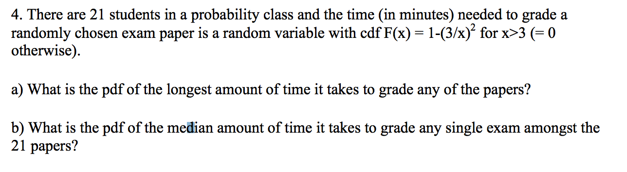 Solved: There Are 21 Students In A Probability Class And T