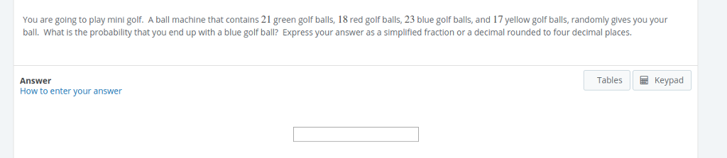 Solved You Are Golng To Play Mini Golf A Ball Machine Th