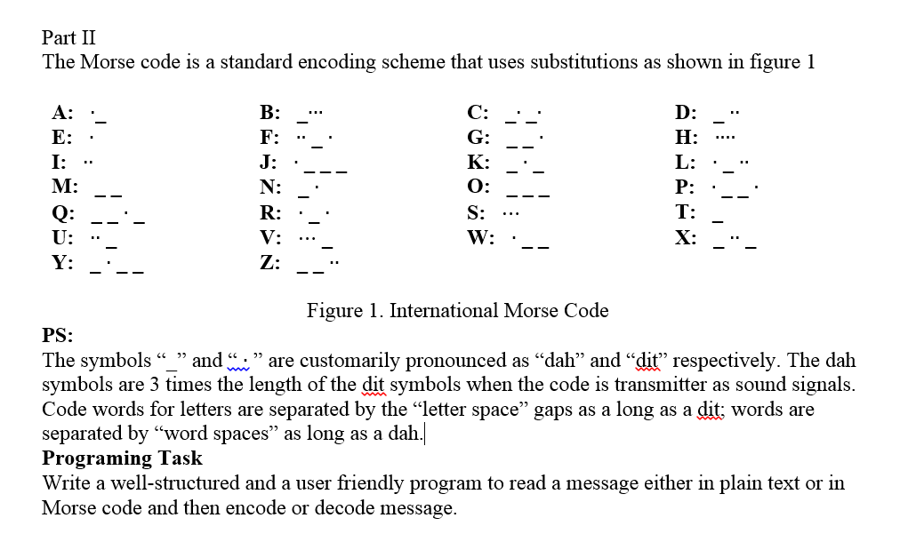 morse code number translator