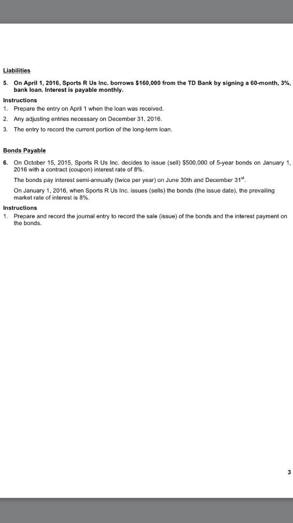 Solved Thompson Rivers University Acct 2210 Assignment 2