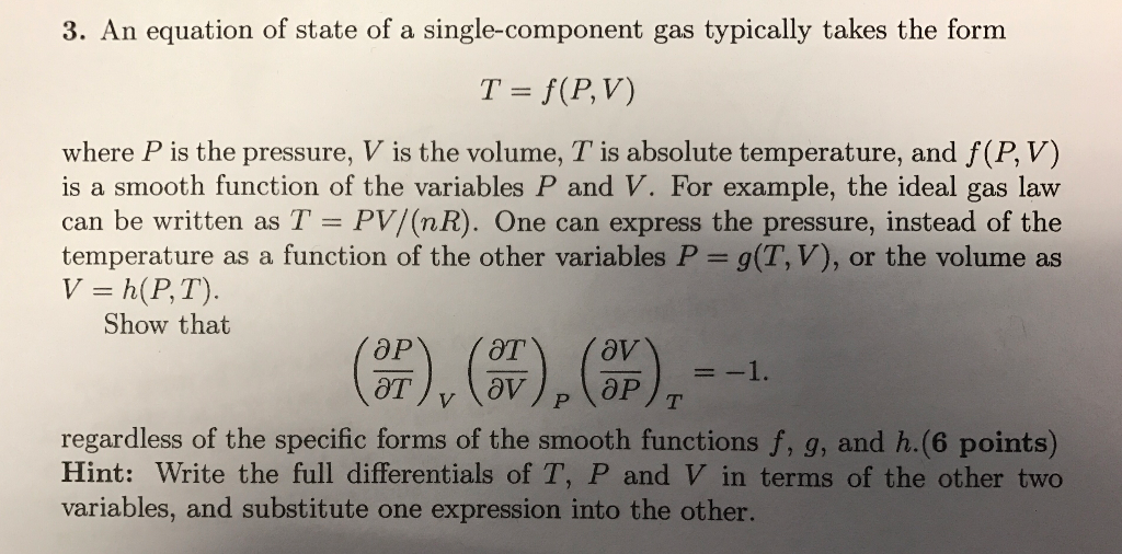 legal letters format%0A An equation of state of a singlecomponent gas typically takes the form