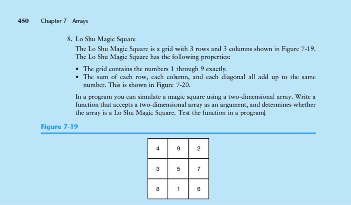 Solved: This Is 3x3 Magic Square I Should Use 0-9 Numbers