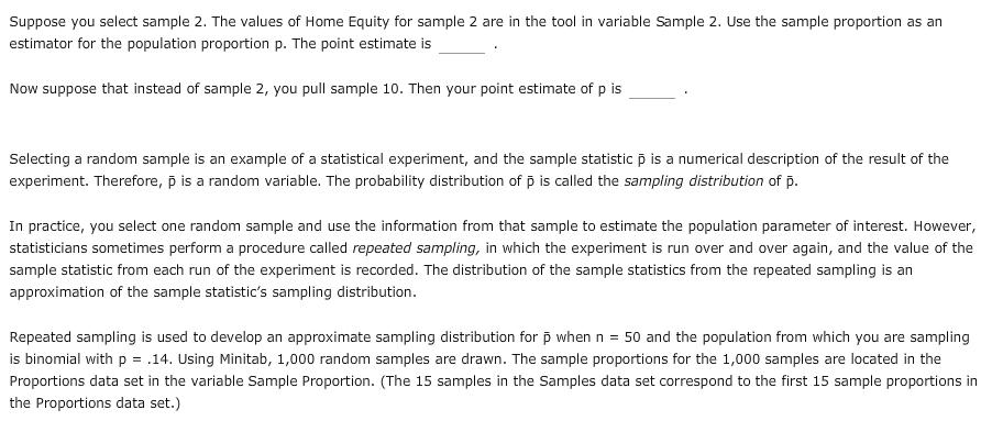 5 The Sampling Distribution Of The Sample Proport Chegg