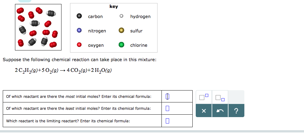 Solved Key Carbon Hydrogen Nitrogen O Sulfur Oxygen Chlor