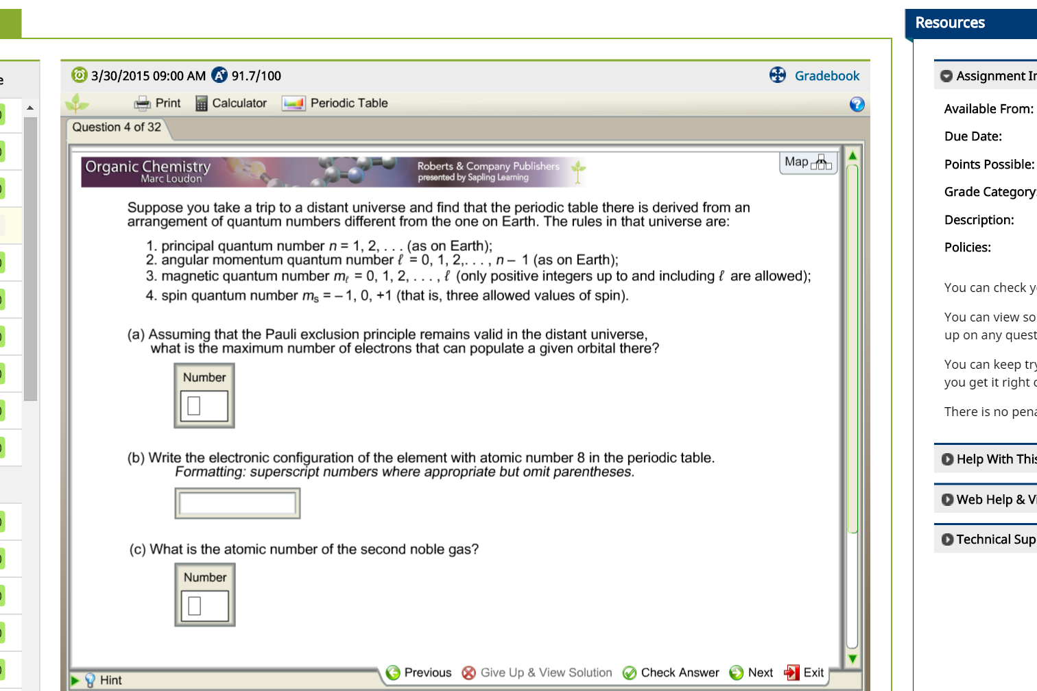 Solved o 3302015 0900 am a 917100 gradebook print ca o 3302015 0900 am a 917100 gradebook print urtaz Image collections