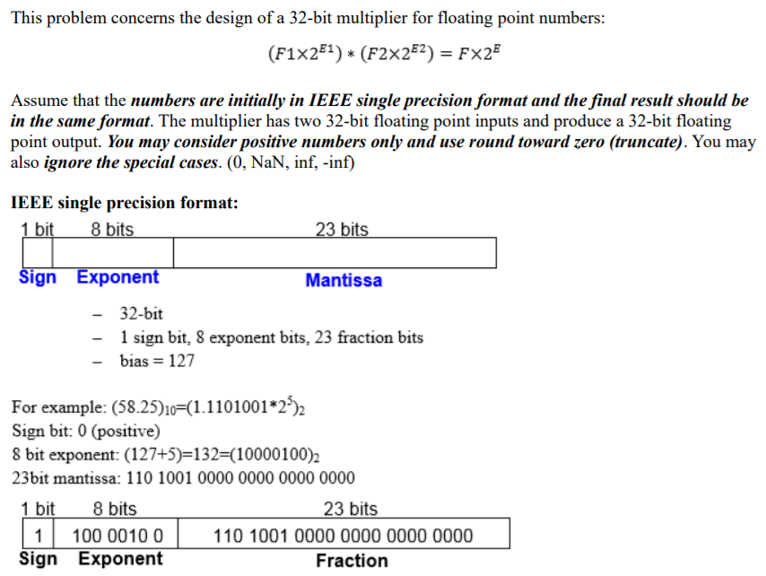 Solved: This Problem Concerns The Design Of A 32-bit Multi