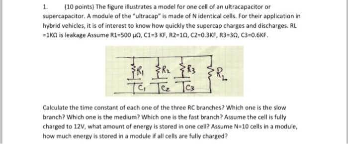 Solved: The Figure Illustrates A Model For One Cell Of An