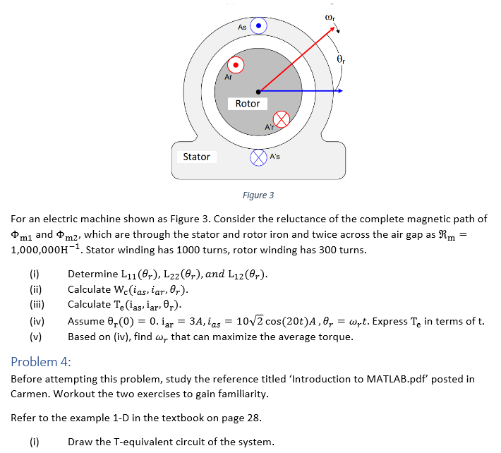 as ar rotor ar stator figure 3 for an electric chegg question as ar rotor ar stator figure 3 for an electric machine shown as figure 3 consider the reluct ccuart Images