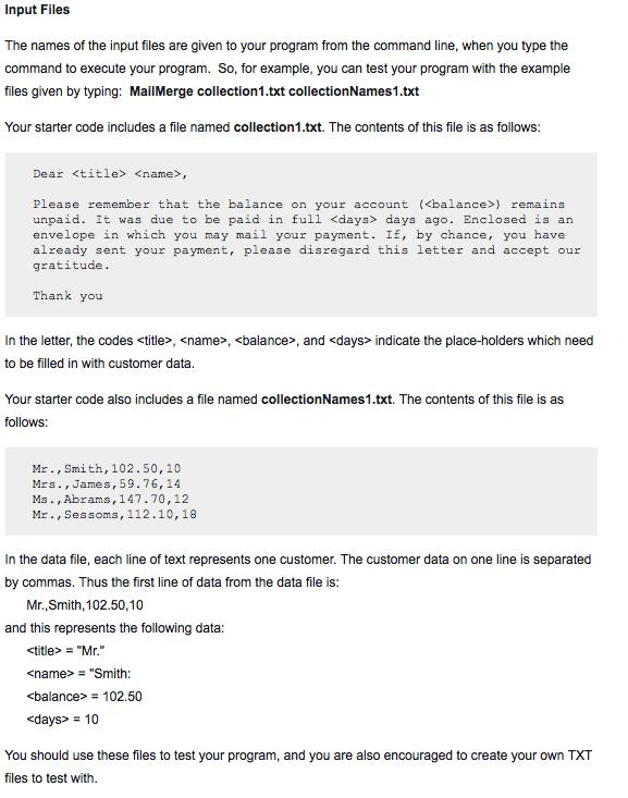 Solved write a program that will perform a mail merge pr no break statements to exit loops altavistaventures Gallery