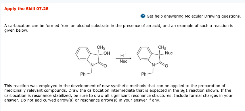 Solved Apply The Skill 0728 Get Help Answering Molecular
