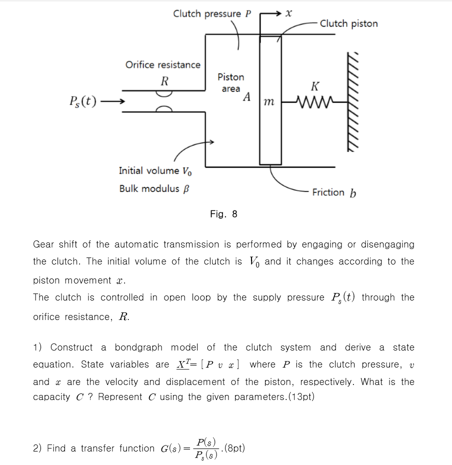 Solved Gear Shift Of The Automatic Transmission Is Perfor How To Build Loudness Control Circuit Schematic